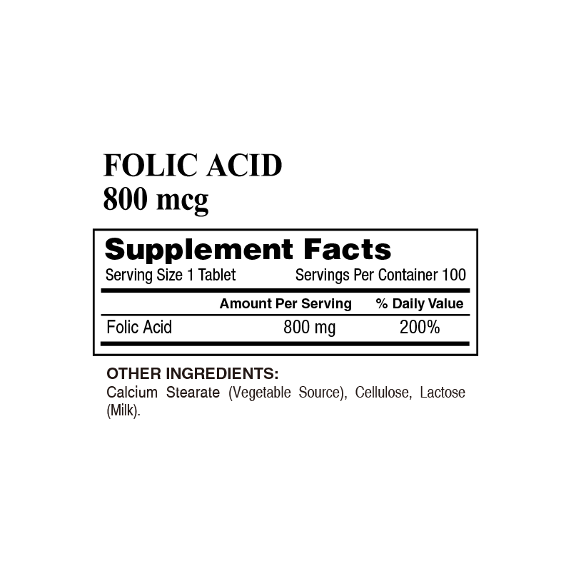 32_Lively – FOLIC ACID 800 mcg (100 Tablets)_800x800