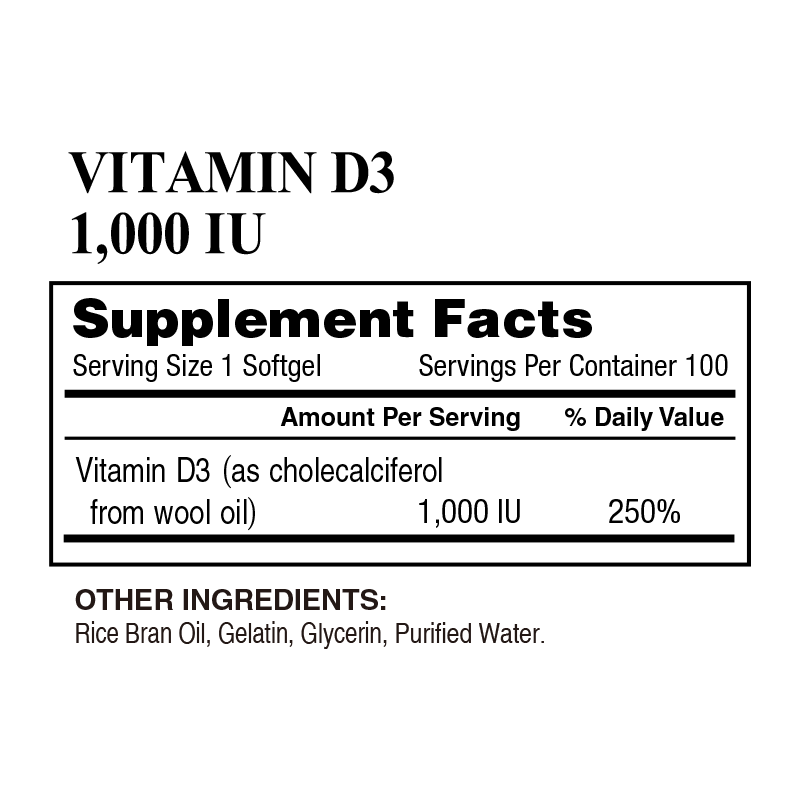 4_Lively – VITAMIN D3 1000 IU (100 Softgels)_800x800